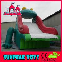 Buy cheap WL-1862 Frog Inflatable Slide For Inflatable Pool from wholesalers