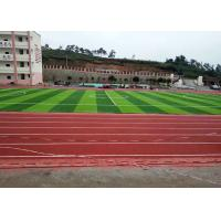 Wholesale FIFA Standard Synthetic Lawn Grass , Diamond Shape Football Astro Turf from china suppliers
