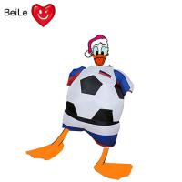 Wholesale World Cup 0.23mmPVC material inflatable football team suit costume from china suppliers