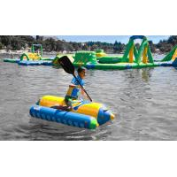 China Outdoor Inflatable Water Toys 3 diameter inflatable saturn rocker for Children and Adults on sale