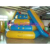 Wholesale Custom Size Commercial Rental Blow Up Water Toy Aqua CE Slide For Water Equipment from china suppliers