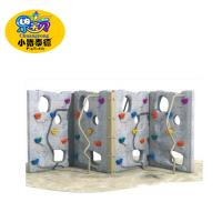 Quality School Kids Backyard Climbing Wall , Outdoor Rock Climbing Wall UV - Resistance for sale