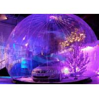 Wholesale Indoor / Outdoor Inflatable Bubble Tent Hail Proof Car Body Cover CE Approval from china suppliers