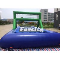 Wholesale 0.9MM PVC Tarpaulin Inflatable Sport Games Water Volleyball Court / Water Bossball from china suppliers