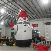 Wholesale Big inflatable snowman from china suppliers