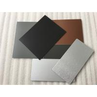 Wholesale 3 Coats PVDF Aluminum Composite Panel Boards High Intensity For Interior Wall from china suppliers