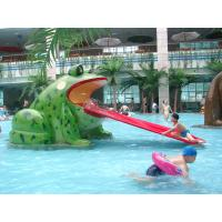 Wholesale Frog Shaped Pool Water Slide Fiberglass from china suppliers