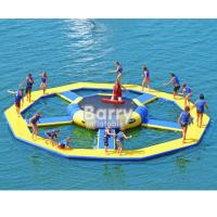 Wholesale Bouncer Water Park Inflatable Water Toys / Inflatable Trampoline from china suppliers
