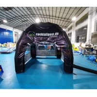 Wholesale Commercial Black Portable Inflatable Marquee Tent Customized from china suppliers
