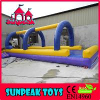 Buy cheap WL-2002 Commercial Inflatable Water Slide Clearance Floating Game Aqua Slides from wholesalers