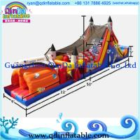 Quality 2015 Enjoy adult inflatable obstacle course for sale,inflatable playground for sale