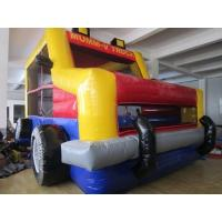 Wholesale Waterproof Inflatable Castle Bouncer Triple Sitiching Hand / Digital Print Logo from china suppliers