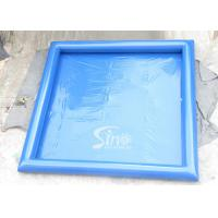 China Blue Large Inflatable Water Pools For Adults Outdoor Inflatable Swimming Pools on sale