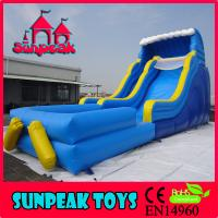 China WL-1828 Large Amusement Park Inflatable Water Slide For Sale on sale