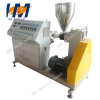 Wholesale Plastic Conical Twin Screw Extruder PVC For Pipe Profile Sheet Extrusion from china suppliers