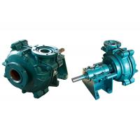Horizontal Small Sludge Pump , High Pressure Slurry Pump Multi Purpose