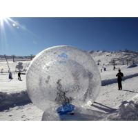 Wholesale Transparent Inflatable Zorb Ball For Snow / Giant Inflatable Zorbing Water Ball from china suppliers