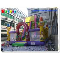 Wholesale Clown Slide Inflatable characters slide PVC inflatable slide Inflatable slide Game KSL077 from china suppliers