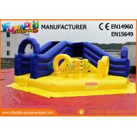 China Amusement Park Commercial Inflatable Slide / Blow Up Bounce House on sale