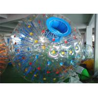 China Huge Inflatable Zorb Ball 1.0mm PVC Durable Loopy Zorb Body Ball on sale