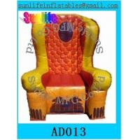 Wholesale inflatable 0.6mm pvc tarpaulin chair for event from china suppliers