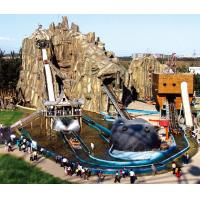 Wholesale Shoot The Chute Sea World Roller Coaster Water Park Equipment , 7m Height from china suppliers