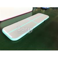 Home Inflatable Air Track Tumbling Gymnastics Mats / Customized PVC Sport Air Tumbling Track