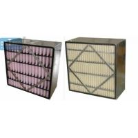 Wholesale Medium Box High Flow Panel Filter Polyurethane Sealing Aluminum Frame from china suppliers