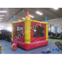 Wholesale Clown Themed Inflatable Bounce House With Slide For Children , EN14960 Certified from china suppliers