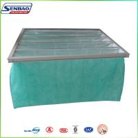 Wholesale F6 65% 1 Mircon Filteration System Bag Air Filters with Aluminum Frame 5 Pockets from china suppliers