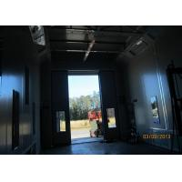 Air Flow Inverter Control Side Draft Paint Booth , Custom Spray Booth Hire