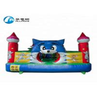 Wholesale top sales inflatable  bouncing castle, blue cat paradise inflatable castle, mini-inflatable bouncer for backyard from china suppliers