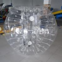 Wholesale Transparent Grassplot / Snow Field TPU Inflatable Bumper Balls For Kids And Adults from china suppliers