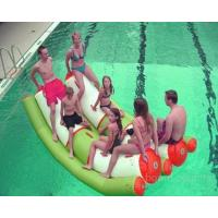 China Interesting Inflatable Water Sports , Adult Seesaw Pool Float on sale