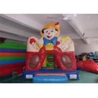China Boy Printing Sporting Game Inflatable Bouncer With Basketball Hoop on sale