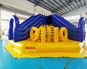 Wholesale Playground Giant Adult Bouncy Castle Jumping Bouncer Inflatable Slide from china suppliers