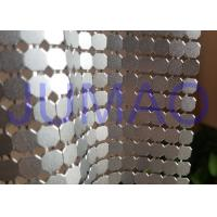 Wholesale 8 Mm Corrosive Resistance Silver Metal Fabric Colorful Rings Room Divider from china suppliers