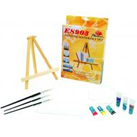 Wholesale Beautiful Oil Painting Sets For Adults With Table Triangular Easel from china suppliers