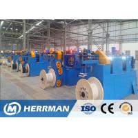 High Speed Horizontal Wire Taping Machine , Fire Resistance Cable Making Machine