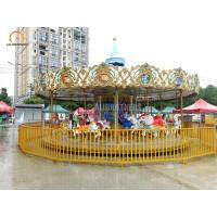 Wholesale Mechanic Amusement Park Carousel , 380 V Kids Carousel Ride 24 Seats from china suppliers
