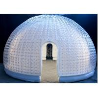 China New Design Double Layers Air tight Clear PVC Inflatable Bubble Tent for Leisure on sale