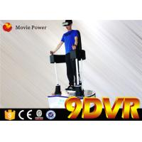 Fashionable Immersive Virtual Reality Standing Up 9d Vr Simulator With Electric System