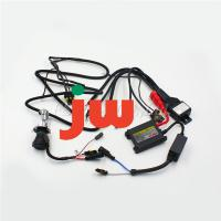 Wholesale Hid Relay Light Bulb Universal Motorcycle Wiring Harness Kit , Motorcycle Electrical Wire Kit from china suppliers