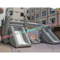 Wholesale Kids Commercial Inflatable Bouncer Slide , Outside Magic Castle from china suppliers