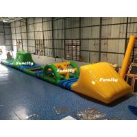Wholesale Swimming Pool Kids Inflatable Water Toys Green / Yellow 16.5 * 2 m 3 Years Warranty from china suppliers