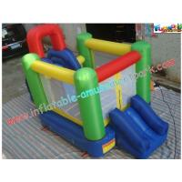 Wholesale Customized Mini Nylon Inflatable Bounce Houses , Bounce Slide House For Kids from china suppliers