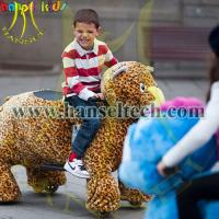 Wholesale Hansel electronics stuffed animal ride electric toy car from china suppliers