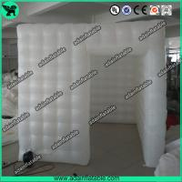 Wholesale White Portable Inflatable Event Tents / Durable Inflatable Photo Booth Tent Printing from china suppliers