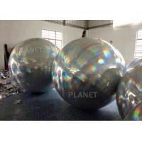 Wholesale Spherical Bright Color Silver Inflatable Mirror Ball For Party Decoration from china suppliers