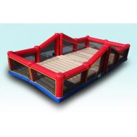 Wholesale Exciting Indoor Inflatable Sports Games Bouncy Volleyball Court With CE from china suppliers